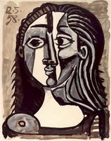 Pablo Picasso. Head of a Woman
