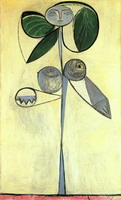 Pablo Picasso. Woman-flower