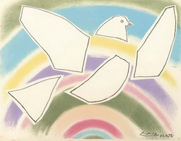 Pablo Picasso. Theme:  Pigeons.