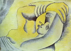 Pablo Picasso. Nude on a Beach