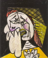 Weeping Woman with scarf