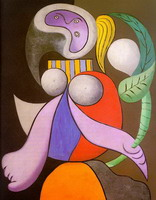 Pablo Picasso. Woman with a Flower