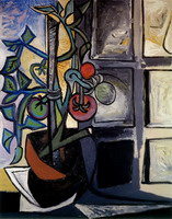 Pablo Picasso. Plant tomatoes