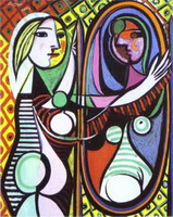 Pablo Picasso. Girl Before a Mirror