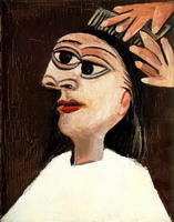 Pablo Picasso. Theme:  Combing.