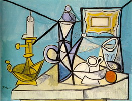 Pablo Picasso. Still Life with Candlestick