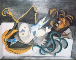 Pablo Picasso. Still Life with Fish