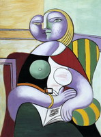 Pablo Picasso. Reading