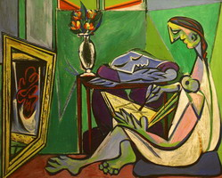 Pablo Picasso. The Muse