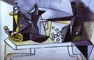 Pablo Picasso. Still-Life with Cheese