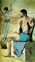 Pablo Picasso. Acrobat on a Ball