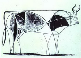 Pablo Picasso. The Bull. State VIII