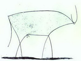 Pablo Picasso. The Bull. State XI