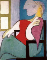 Pablo Picasso. Woman Sitting Near a Window (Femme Assise Pres d'une Fenetre)