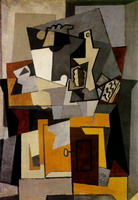Pablo Picasso. Still life with a key