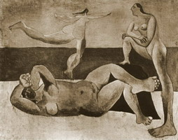 Pablo Picasso. three Bathers, 1920