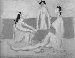 Pablo Picasso. Three Bathers I, 1920