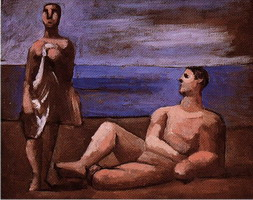 Pablo Picasso. Two bathers