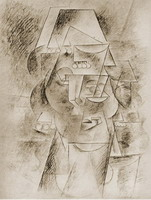 Pablo Picasso. Head of Spanish, 1911