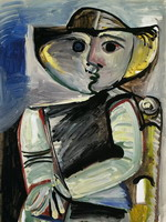 Pablo Picasso. Character [Seated Woman]