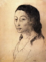 Portrait of Fernande