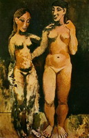 Two naked women