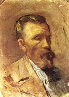 Portrait of father l`artiste, 1895