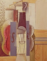 Pablo Picasso. Violin Hanging on the Wall