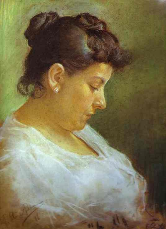 Pablo Picasso. Portrait of the Artist's Mother, 1896