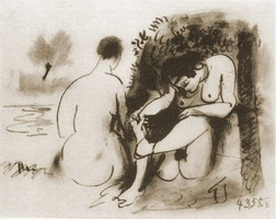 The two naked women V